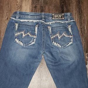 Miss me jeans size 31 signature rise boot cut